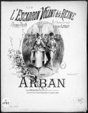 L'escadron volant de la reine : pavane-polka : [pour piano] / par Arban ; Sur l'opéra comique de Henri Litolff ; [ill. par] Faria
