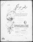 Danse marocaine : pour piano avec effet de tambour de basque : 2me morceau récréatif (2ème éd.) / par Arthur-Louis & I. Brié ; [ill. par] P. Borie