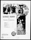 Nouvelles compositions. , Amaranthe : gavotte [pour piano op. 136] / Georges Auvray ; [ill. par] Léonce Burret