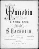 Muzzedin-walzer : [pour piano] / von S. Bachrich