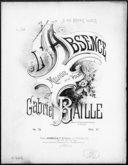 L'absence : mélodie pour le piano op. 74 / Gabriel Baille ; [d'après un poème de] Lamartine