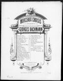 Les sylphes : valse-caprice / G. Bachmann ; arrangée pour violon [et piano] par Horace Poussard ; [couv. ornée par] E. Buval