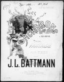 Les porcherons : petite fantaisie pour piano op. 275 / par J. L. Battmann ; d'[après] Alb. Grisar