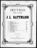 Le cor des Alpes : fantaisie pour piano op. 253 / de J. L. Battmann ; [d'après H.] Proch