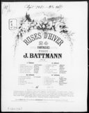Roses d'hiver ; 24. Pourquoi ? : op. 17 n° 23 [pour piano] / J. L. Battmann ; [d'après] F. Ricci ; [ill. par] A. Barbizet