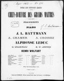 Orphée : op. 188 / [pour piano] par J. L. Battmann ; [d'après] Gluck