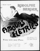 Amours flétries : valse lente pour piano / Rodolphe Berger ; [ill. par] Manning