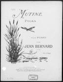 Mutine : polka pour piano : op. 109 / par Jean Bernard ; [ill. par] R. Pellier