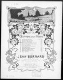 Souvenir d'automne : [pour piano] : op. 43 / par Jean Bernard ; [ill. par] T. Thomas