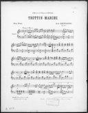 Trottin-marche : pour piano : op. 96 / Jean Bernard