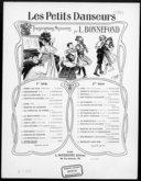 Les petits danseurs. 15, Sturm-galop : [pour piano] / Bilse ; transcription facile par L. Bonnefond ; [ill. par] Clérice frères