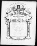 Le concert au pensionnat. 1, Strum-galop : piano / de Bilse ; transcription à 6 mains par Georges Micheuz ; [couv. ornée par] L. Denis
