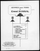 À la manière de... : piano / Ermend Bonnal