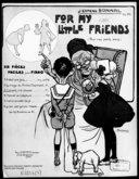For my little friends : six pièces faciles pour piano : op. 30. N° 3, Conseils à la poupée / J. Ermend Bonnal ; [ill. par] L. Pousthomis