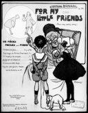 For my little friends : six pièces faciles pour piano : op. 30. N° 4, Menuet de l'éléphant / J. Ermend Bonnal ; [ill. par] L. Pousthomis