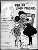 For my little friends : six pièces faciles pour piano : op. 30. N° 5, Cendrillonnette-valse / J. Ermend Bonnal ; [ill. par] L. Pousthomis