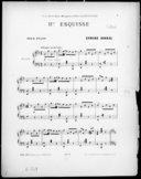 IIme esquisse : pour piano / Ermend Bonnal