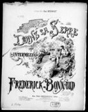 Dans la serre : intermezzo : pour piano seul / par Frédérick Bonnaud ; [ill. par] P. Merwart,...