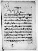 Quartetto IIdo per il flauto, violino, viola e violoncello...