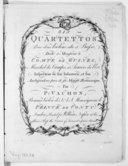 Six Quartettos pour deux violons, alto et basso...