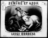 Zémire et Azor : quadrille sur des airs populaires / par Luigi Bordèse ; [ill. par] A. Grévin