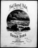 Ved havet vals : am meer. Walzer : for piano / komponeret af Oscar Borg