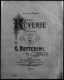 (Träumerei); Rêverie / par G. Bottesini ; [transcrite pour piano par E. Gandolfo]