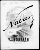 Nadar-mazurke : pour le piano / par Victor Boullard ; [ill. par] A. Grévin