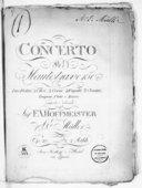 Concerto per flauto traverso, due violini, 2 oboi, 2 corni, 2 fagotti, 2 clarini, tympani, viola e basso... Op. 20