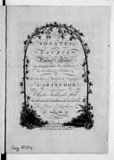 Six sonates pour le clavecin ou piano-forte avec accompagnement d'un violon... Oeuvre XIII