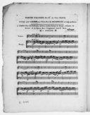 Marche d'Alceste..., arrangé pour la harpe avec violon par J. B. Krumpholtz. Ouvrage posthume