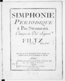 Simphonie périodique a piu stromenti... N° VI...