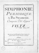 Simphonie périodique a piu stromenti... N° VIII...