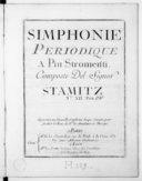 Simphonie périodique à piu stromenti... n° XII