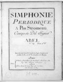 Simphonie périodique a piu stromenti [en si b majeur]... n° 14...