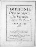 Simphonie périodique a piu stromenti... N° 28...