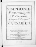 Simphonie périodique à più stromenti... N° V...