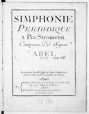 Simphonie périodique a piu stromenti... [en si b majeur]... n° 9...