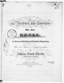 115 Versetten und Cadenzen für die Orgel in den Gewöhnlichen 8 Kirchen Tonarten für seine Schüler im Orgelspiel geschrieben...