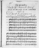 Chi mi mostra, sung by signora Storace, in the opera of Gli schiavi per amore...