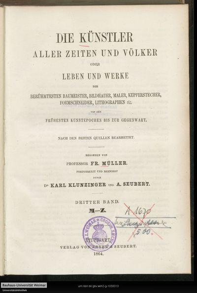 M - Z; Bd. 3