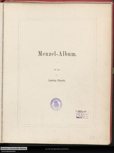 Menzel-Album