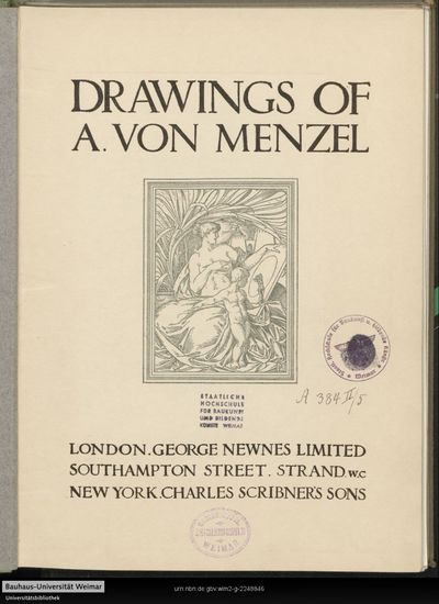 Drawings of A. von Menzel