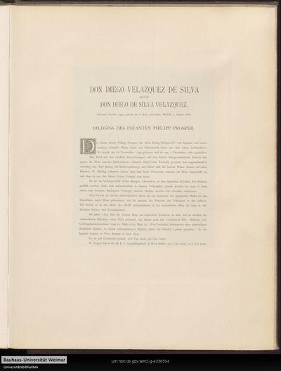 Bildniss des Infanten Philipp Prosper.