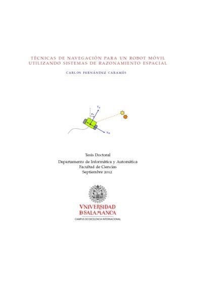 Técnicas de navegación para un robot móvil utilizando sistemas de razonamiento espacial