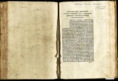 Mariangeli Accursii Diatribae