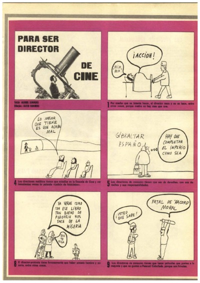 Para ser director de cine