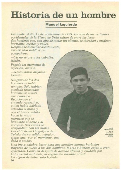 Image from object titled Historia de un hombre que perdió la guerra
