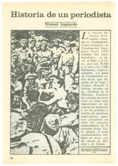 Image from object titled Historia de un periodista