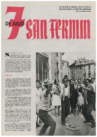 7 de Julio, San Fermín